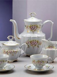 Set za kavo iz porcelana za 12 oseb Josephine