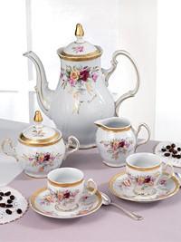 Set za kavo iz porcelana za 6 oseb Matilde