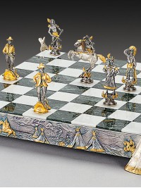Luksuzni šah - INDIJANCI IN KAVBOJCI / mali