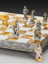Luksuzni šah - ŽIVALI IZ DŽUNGLE / srednji