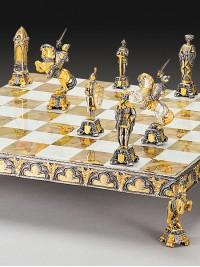Luksuzni šah - SREDNJEVEŠKI SET / srednji