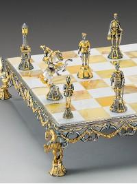 Luksuzni šah - RENESANČNI SET XV st. / srednji
