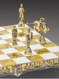 Luksuzni šah - HENRIK II. / srednji