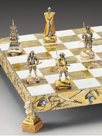 Luksuzni šah - SAMURAJ; BITKA PRI NAGASHINU L.1575 / srednji