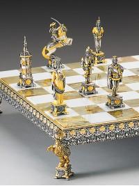 """Luksuzni šah - BITKA PRI """"SACCO DI ROMA"""" (leta 1527), verzija 2 / srednji"""