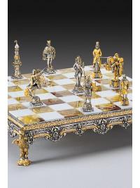 Luksuzni šah - SREDNJEVEŠKI BOJ (XIII. stoletje) / srednji