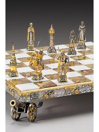 Luksuzni šah - BOJ NAPOLEONA IN RUSKEGA CARJA DIMITRIJA / srednji